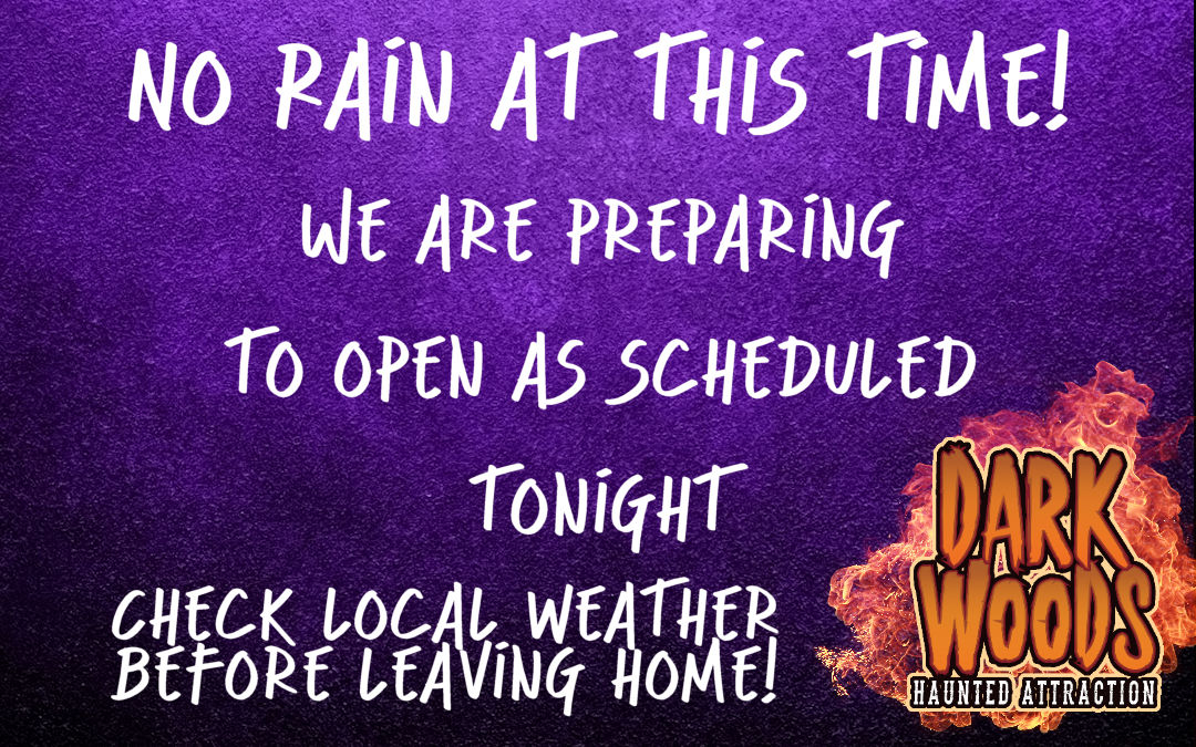 Open Tonight!