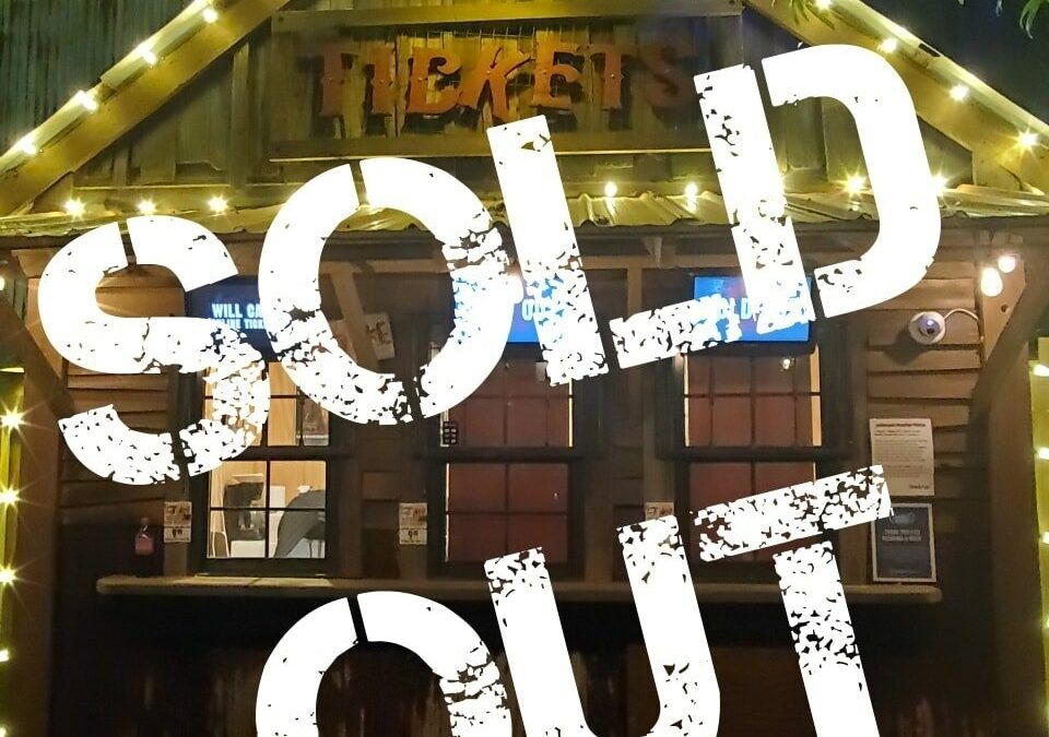 Sold Out! Saturday Oct 17th