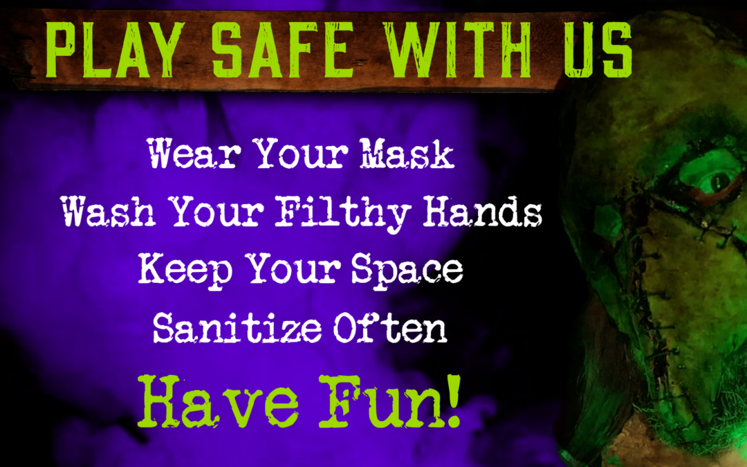 Play Safe With Us at Dark Woods